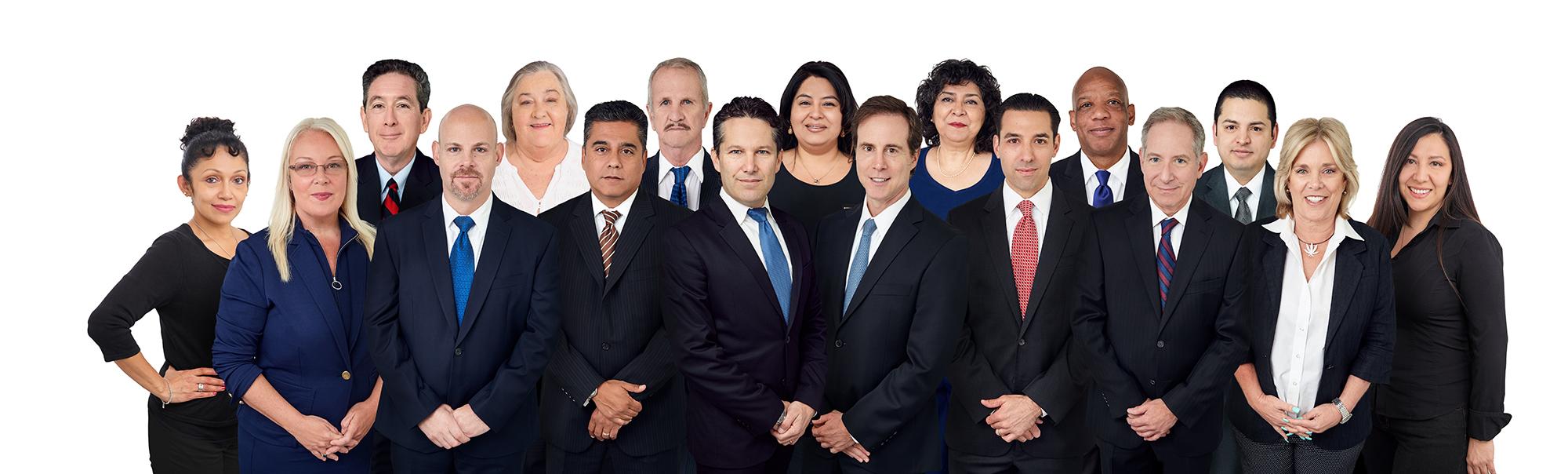 The Trustee Group (from left to right): Elsa Abarca, Louise Dawson, Phil Hernandez, Jeffrey Engerman, Joanne Byrd, Rick Marquis, Dan Woodard, Kevin Singer, Sandy Leon, John Rachlin, Jila Gharehbaghi, Scott Yahraus, Don Del Rio, David Kamm, Jeff Castillo, Pam Donner, Jackie Angel